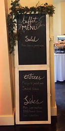 extra small chalkboard sign