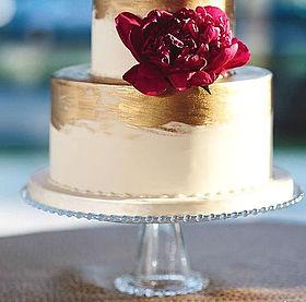 glass bead cake stand