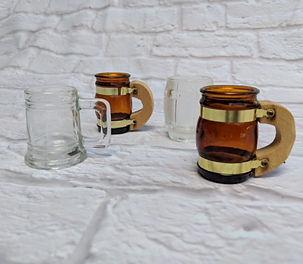 vintage tiny mugs