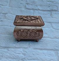rose gold ring box