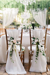 chair drapes white/ivory