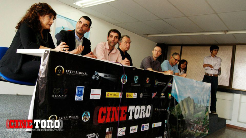 Press conference at CINETORO