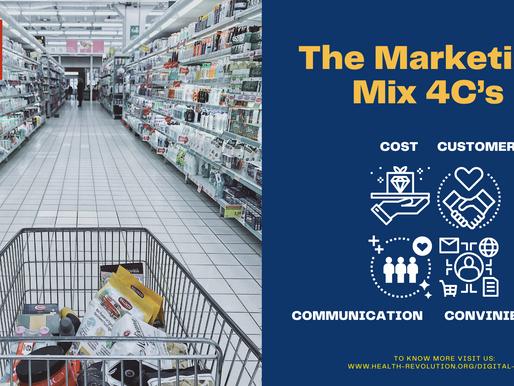 The Marketing Mix 4C's