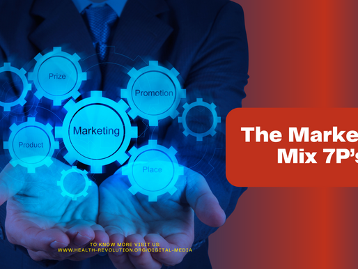 The Marketing Mix 7P's