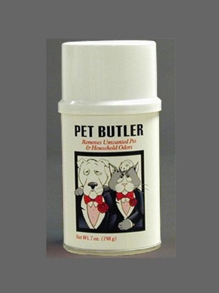 The Pet Butler Odor Eliminator 7oz Aerosol Can - 12, 12 - Pack Cases