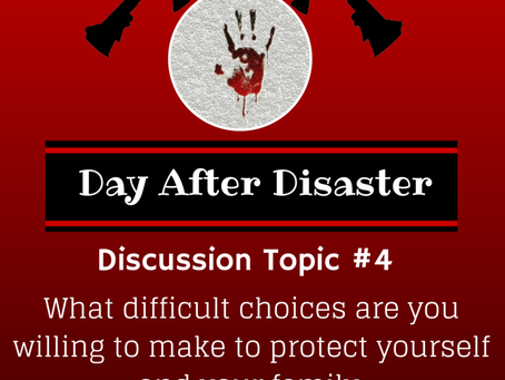 Day After Disaster Discussion #4