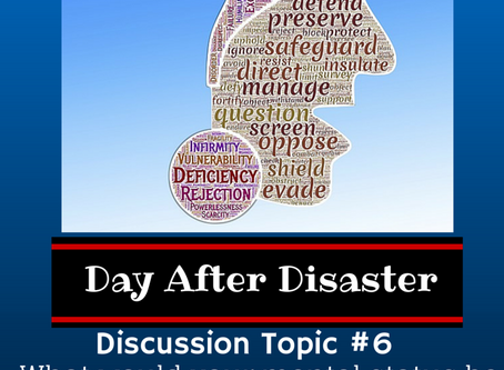 Day After Disaster Discussion #6