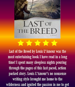 Book Review: Last of the Breed by Louis L'Amour