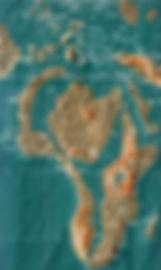 Future map of Africa by Gordon-Michael Scallion Matrix Institute