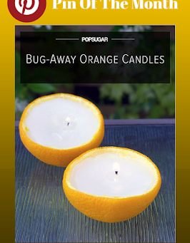 Scented Orange Candles