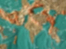 Future map of India and surrounding areas by Gordon-Michael Scallion Matrix Institute