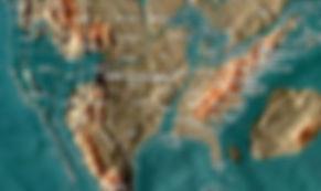 Future map of the United States by Gordon- Michael Scallion Matrix Institute