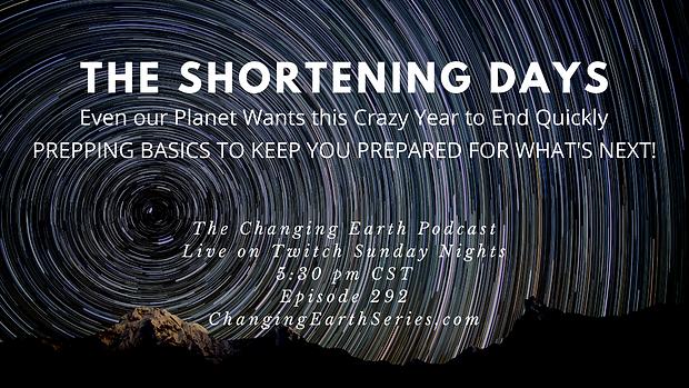 The Shortening Days