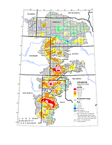 Ogallala Map of Water Usage
