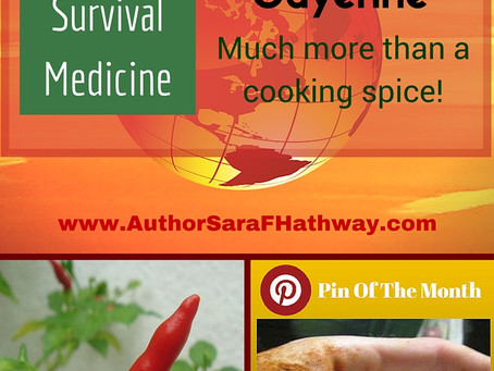 Cayenne: More than just a cooking spice