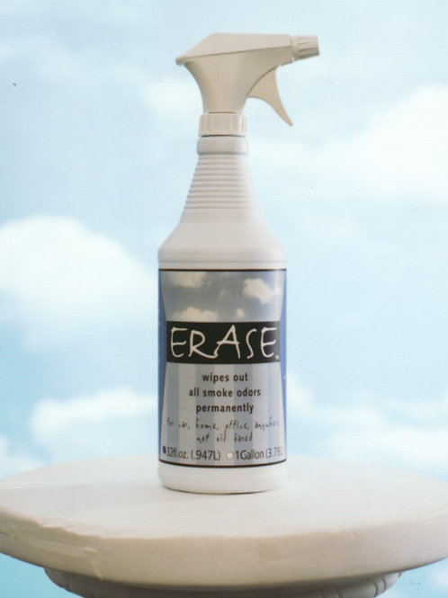 Erase Odor Eliminator 4 pack of 32 oz Spray Bottles
