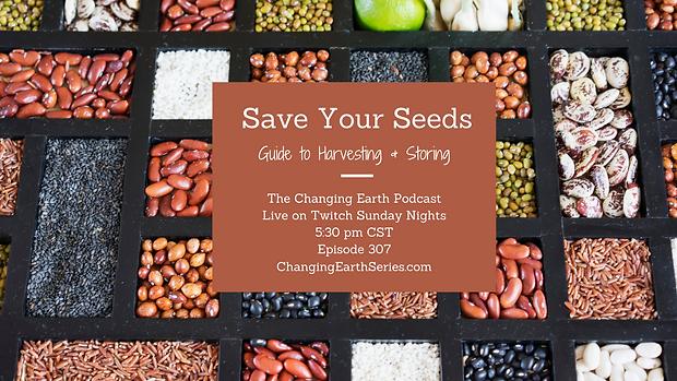 Saving Your Seeds