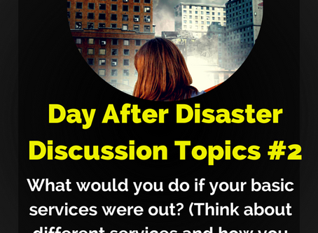 Day After Disaster Discussion #2
