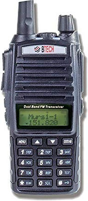 BTECH MURS-V1 MURS Two-Way Radio, License Free Two-Way Radio for Manufacturing, Retail, Personal, and Business