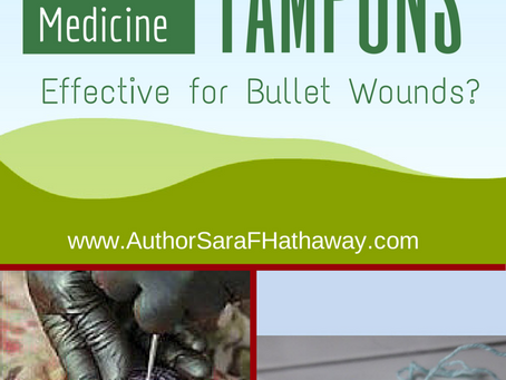 Tampons, Effective for Bullet Wounds?