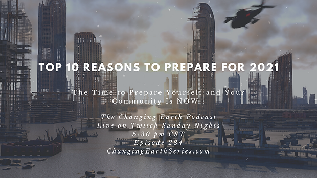 Top 10 Reasons to Prepare for 2021