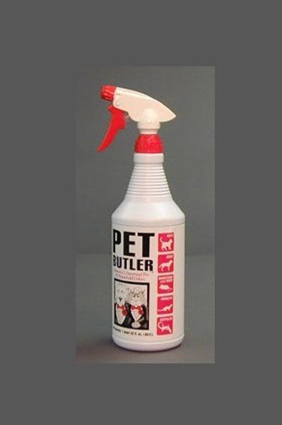 The Pet Butler Odor Eliminator 32 oz Spray Bottle - Case