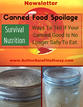 Canned Food Spoilage