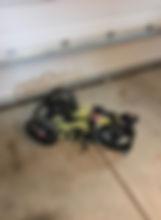 Bug Out Cart Folded