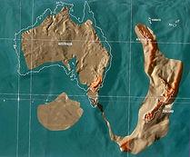 Future map of Australia and New Zealand by Gordon-Michael Scallion Matrix Institute