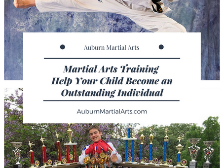 Martial Arts Training: Help your Child Become an Outstanding Individual