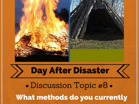 Day After Disaster Discussion #8