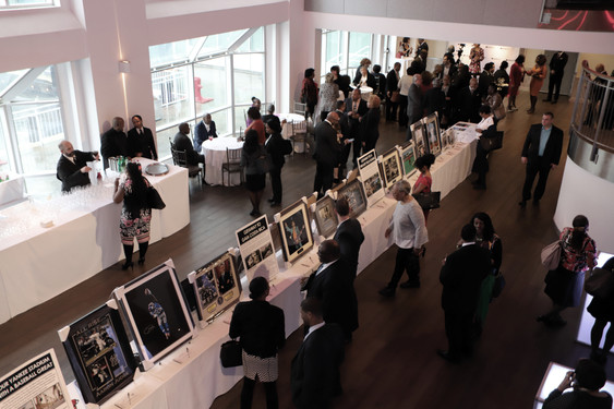 MLK 2019 Auction Tables and Room from Le