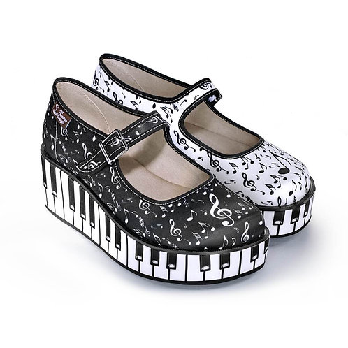 Chaussures ''Thank You Music''