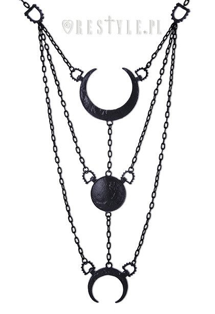 Collier avec pendentifs ''Moon Phases''