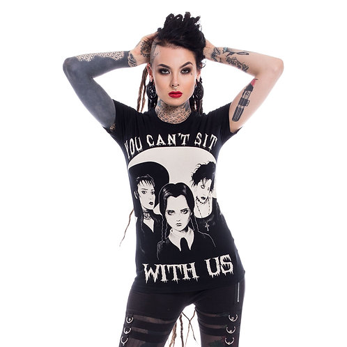 T-shirt ''Sit With Us''