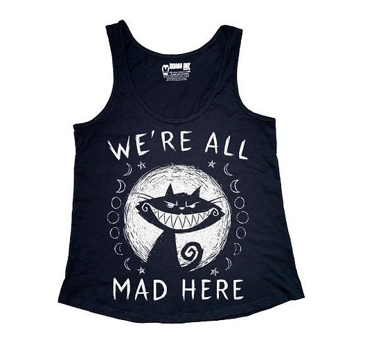 Camisole ''WE'RE ALL MAD HERE''