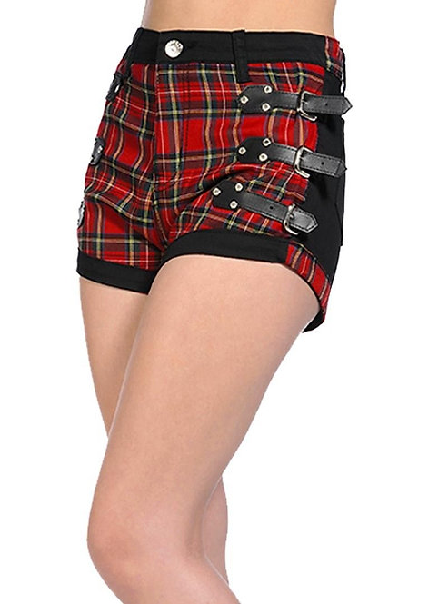 Shorts ''Red Tartan''