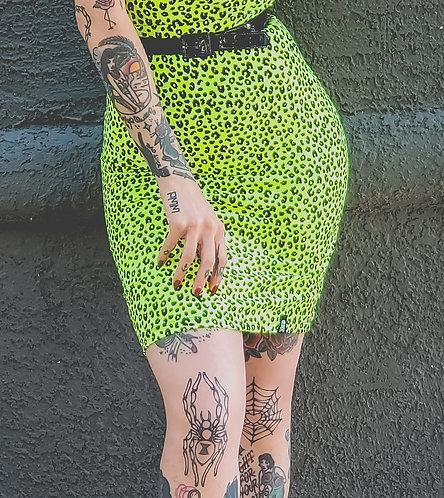 Jupe ''Neon Leopard''