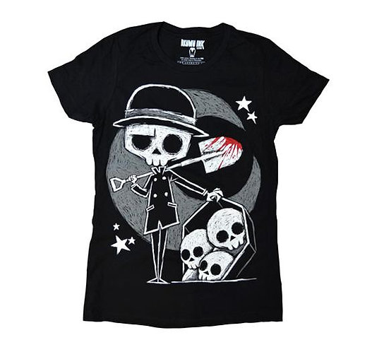 Ladies T ''THE GRAVEDIGGER''