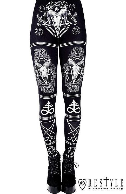 Leggings ''Satanic''