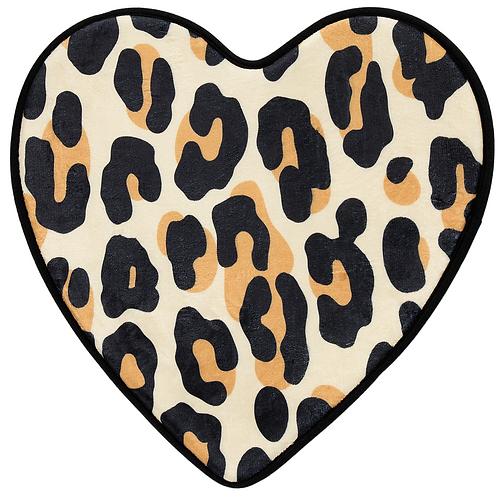 Tapis ''Leopard Heart''