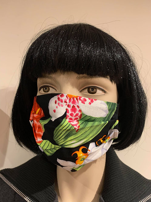 Masque floral