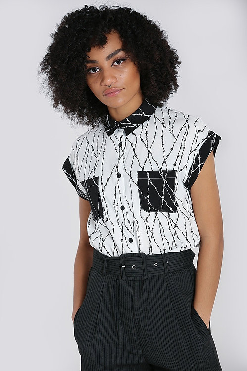 Blouse ''Barbed Wire''