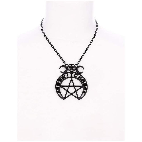 Collier avec Pendentif ''Witch Moon''