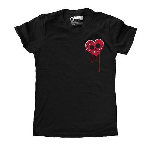 Ladies T ''BLEEDING HEART''