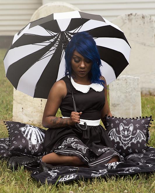 Parapluie Noir et blanc