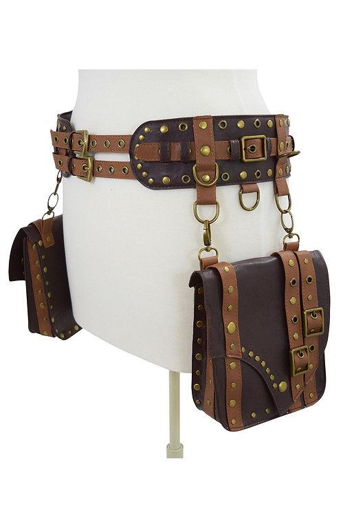 Ceinture steampunk 'Pocket Belt''