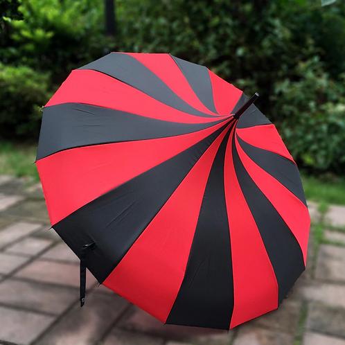Parapluie ''Red Swirl''