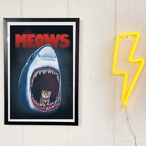 Poster ''Vintage Meows''