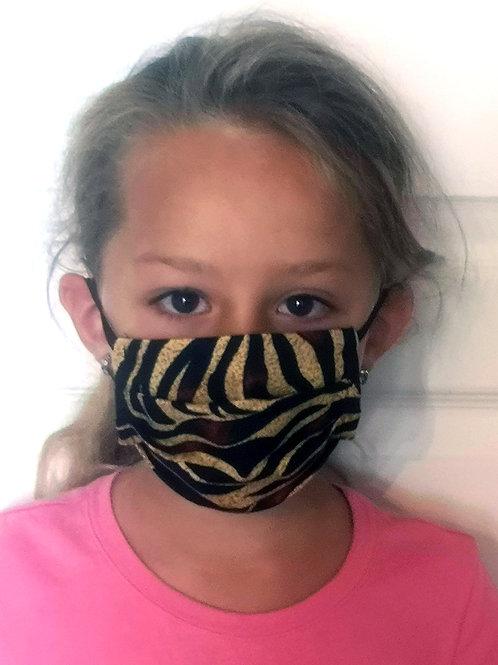 Masque enfant tigré